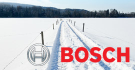 Snow and ice measurement for Bosch